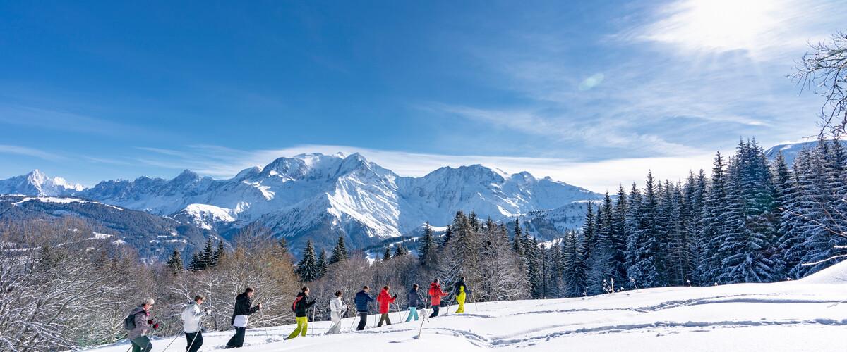 Saint-Gervais Mont-Blanc, La rando en haute-altitude