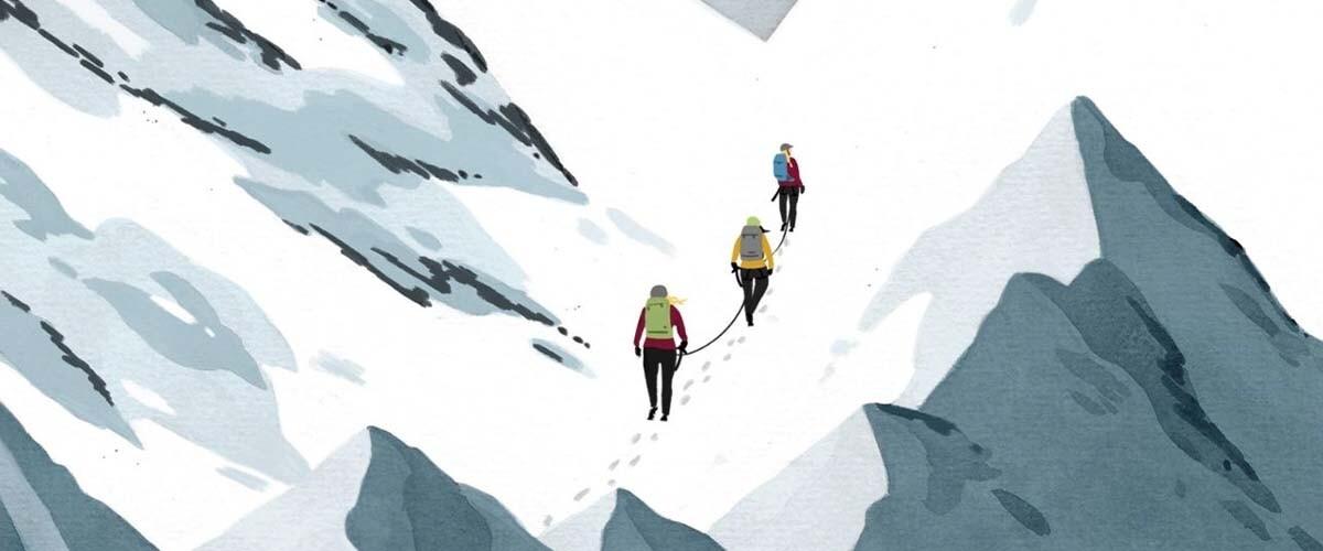 Femmes en montagne