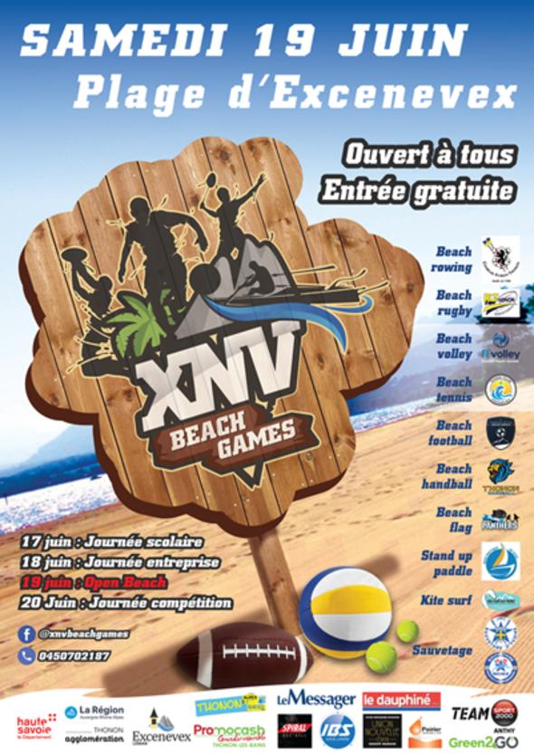 XNV BEACH GAMES