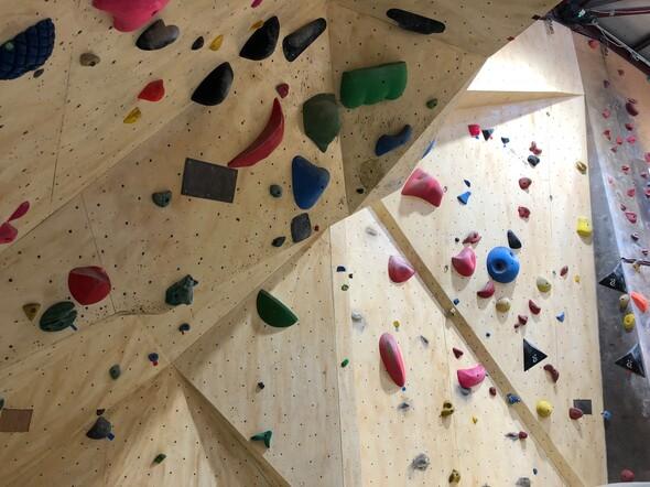 La salle d'escalade « Bloc Trotters » retrouve les sommets